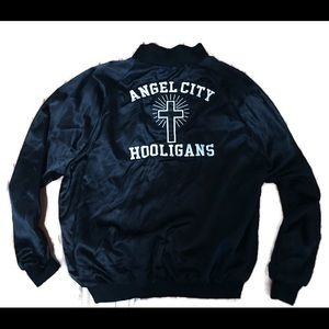 Angel City Hooligans bomber jacket made in USA !